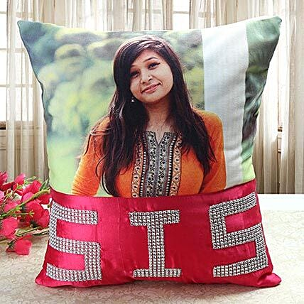 Personalized Comfy Cushion: Personalised Gifts for Rakhi