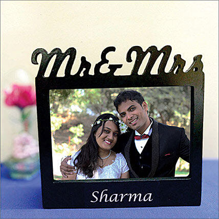 Personalized Couple Photo Lamp: Personalised Photo Frames Gifts