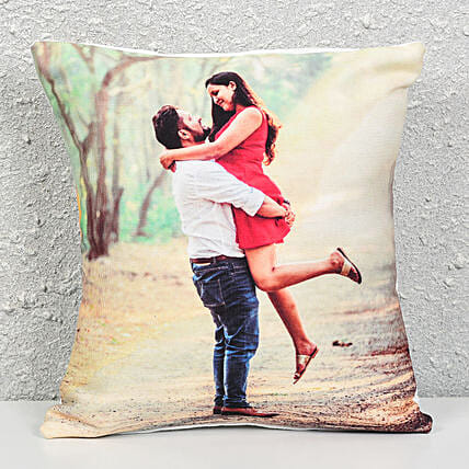 Personalized Cushion Gift: Gift Delivery in Mahe