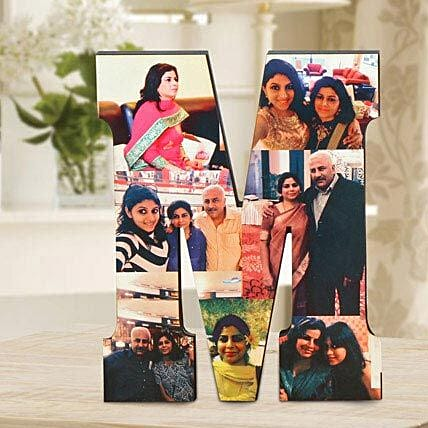 Personalized M Table Top: Send Gifts to Bharatpur