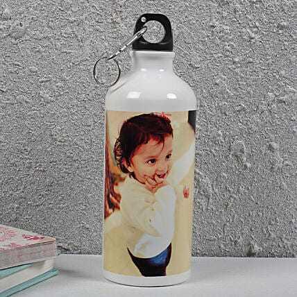Personalized Photo Bottle: Gifts for Childrens Day