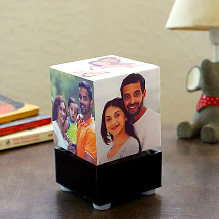 Personalized Rotating Lamp Mini: Send Gifts to Vellore