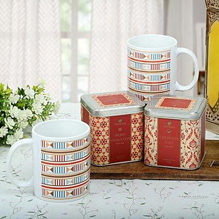 Premium Tea Hamper: Send Romantic Gift Hampers