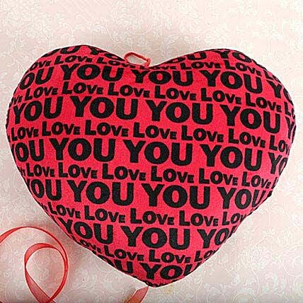 Red Love You Heart: Valentines Day Soft toys