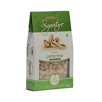 Roasted & Salted California Pistachios- 200 gms: Dry Fruits Gift Packs