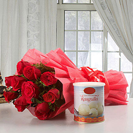 Roses Glory: Send Flowers & Sweets for Diwali