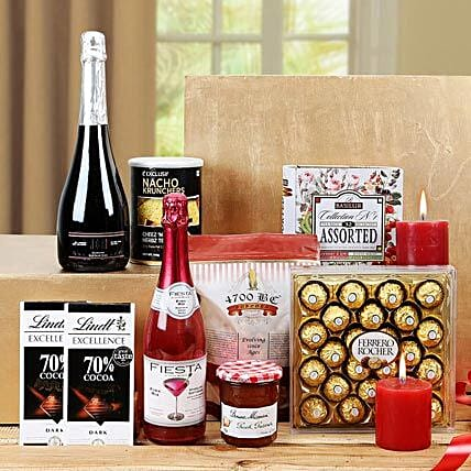 Sensational Treat Gift Basket: Candles