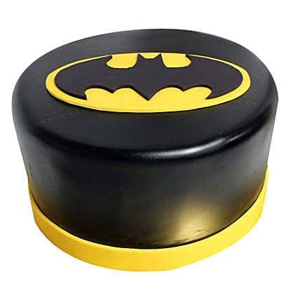 Shining Batman Cream Cake: Birthday Chocolate Cakes