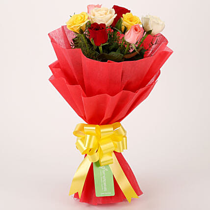 Special Mixed Roses Bouquet