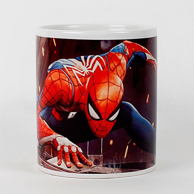 Spiderman Printed White Mug: Buy Coffee Mugs