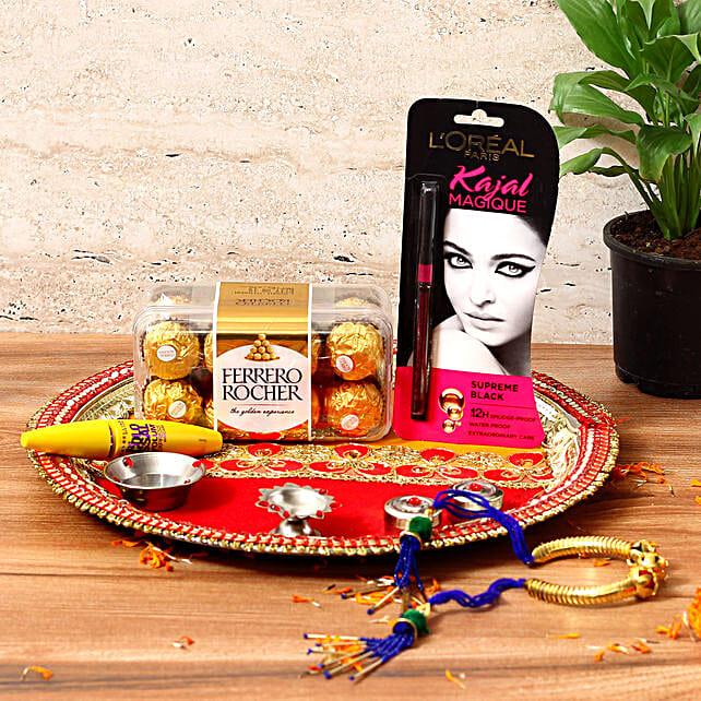Stylish Karwa Chauth Gift Hamper: Send Pooja Thali