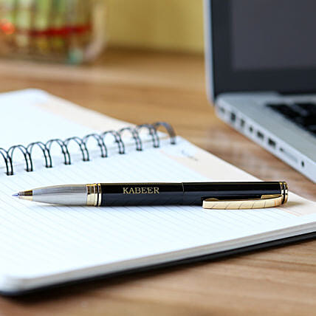 Stylish Personalised Roller Pen: