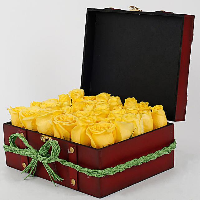 Sunshine Floral Arrangement: Yellow Flowers