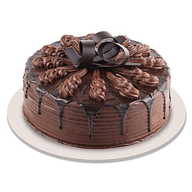 Swanky Chocolate Indulgence Cake: Chocolate Cake