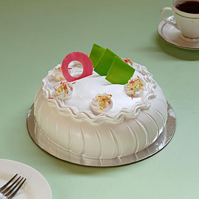 Tasty Vanilla Cake: Cake Delivery