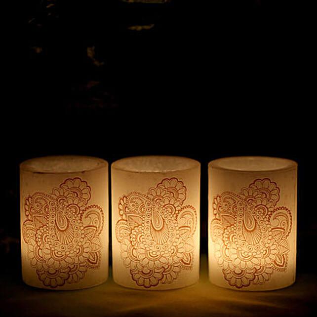 Triple Shine: Send Candles