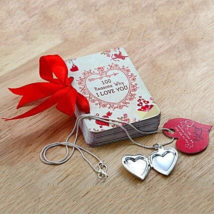 100 Reasons of Love n Locket: Send Gifts to Bageshwar