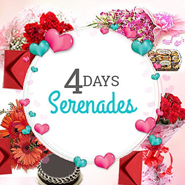 4 Days Valentine day is not enough: Serenades