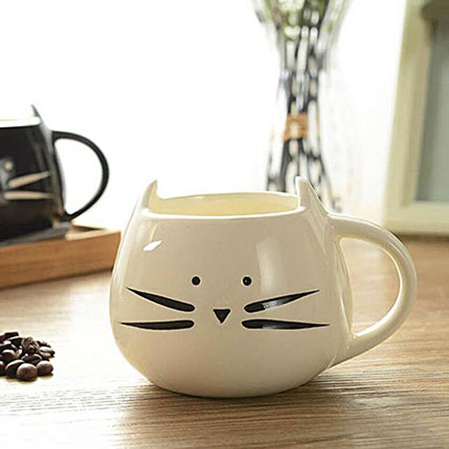 Adorable Cat Mug: Funny Gifts