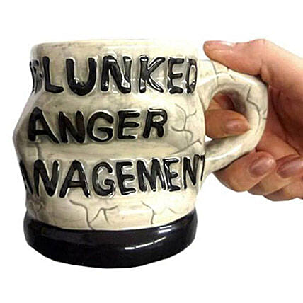 Anger Management 3D Coffee Mug: Unusual Gifts
