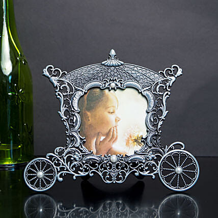 Antique Silver Table Top Photo Frame: Friendship Day Photo Frames