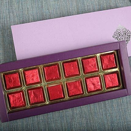Assorted Butterscotch Chocolates: Girlfriends Day Chocolates