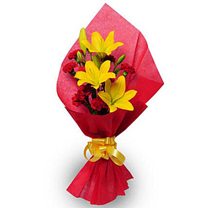Beautiful Bouquet: Flowers for Parents