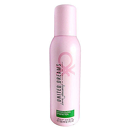 Benetton United Dreams Love Yourself Deodorant For Women: Perfumes for Womens Day