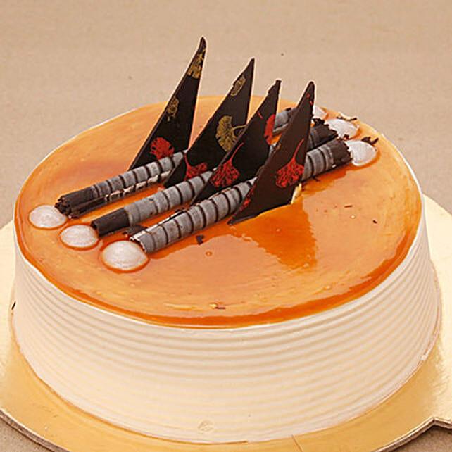 Blonde Caramel Cake: