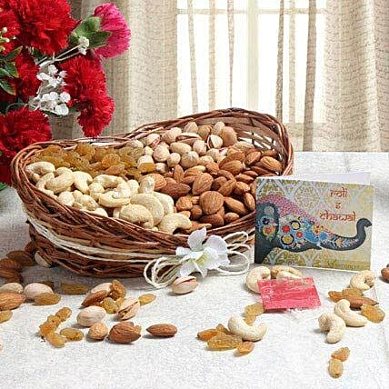 Boat Of Dry Fruits: Gift Baskets