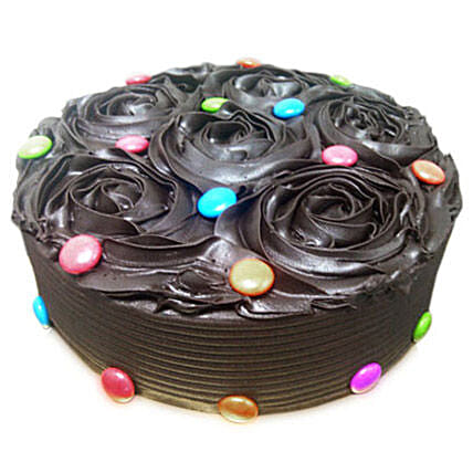 Chocolate Flower Cake: Rose Cakes