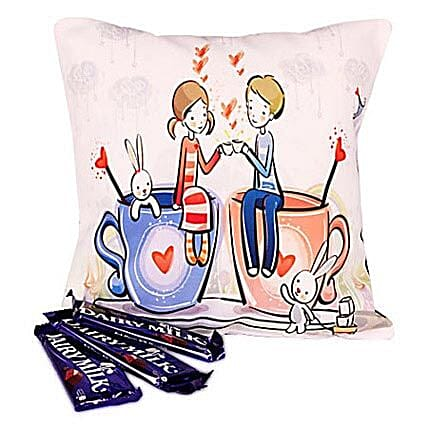 Chocolaty Couple: Girlfriends Day Chocolates