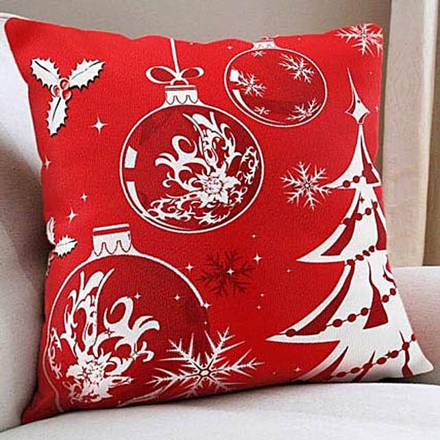 Christmas Cushion: Send Gifts to Mahe