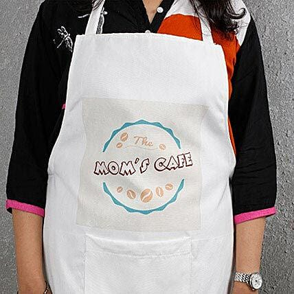 Cool Moms Cafe Apron White: Apparel Gifts
