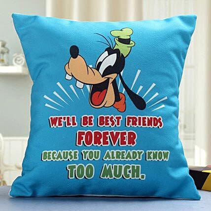Crazy Friend Cushion: Gifts for Friend