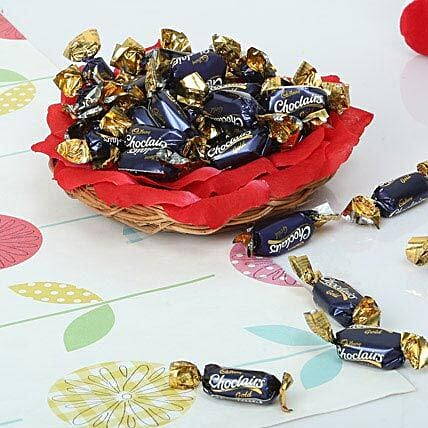 Cute Choco Basket: Send Gifts for Pongal