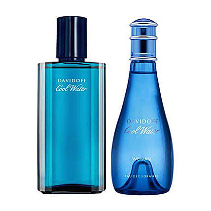Davidoff Cool Water Men Women Deodorant Set: Perfumes for Mothers Day