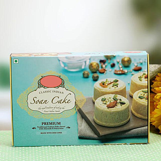 Elegant Soan Cakes: Buy Sweets