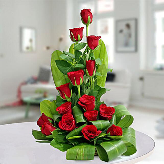 Expression of Romance: Flower Basket