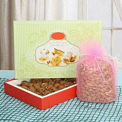 Fervor Sweet N Crunch: Sweets & Dry Fruits - Bhai Dooj