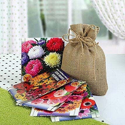 Flowering Seeds Hamper: