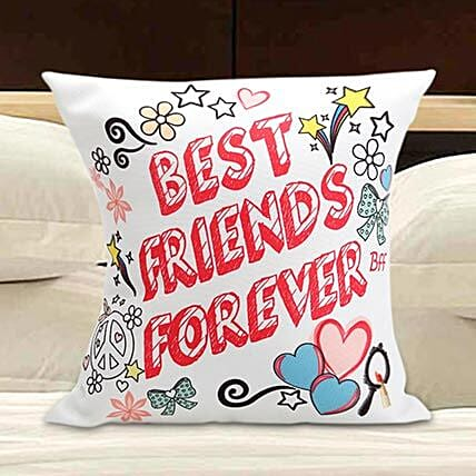 Friends Forever Cushion: Gift for Girlfriend Day