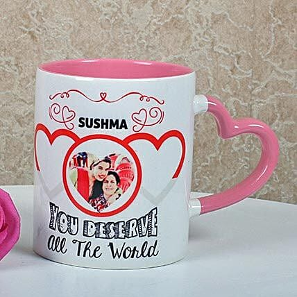 Full Of Love Personalized Mug: Personalised Mugs