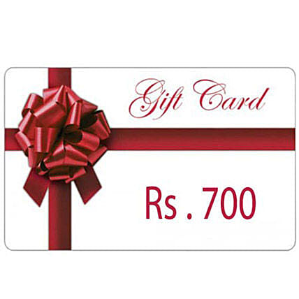 Gift Card 700: Gift Cards