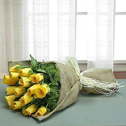 Glamorous Yellow: Send Flowers for Parents