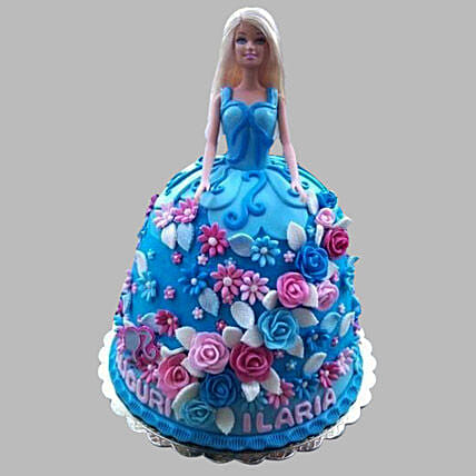 Heavenly Barbie Cake: Cinderella Cakes