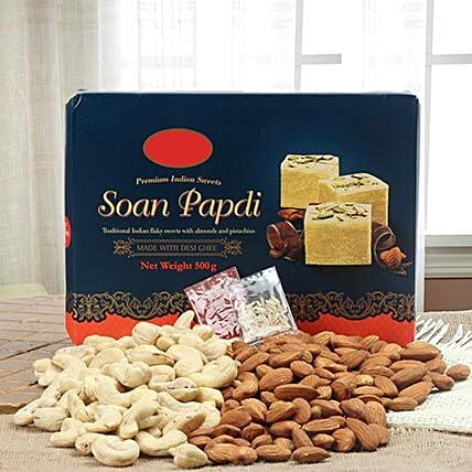 Ideal Bhaidooj Gift: Sweets & Dry Fruits for Bhai Dooj