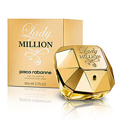 Lady Million Womens EDP Spray: Perfumes for Mothers Day