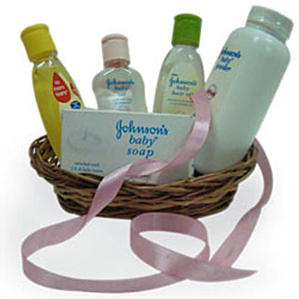 Little Angel Basket: New Born Baby Gifts
