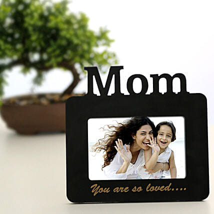 Lovely Mom Personalized Frame: Send Personalised Photo Frames to Chennai